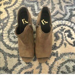 Shoes - Wedge peep toe shoes